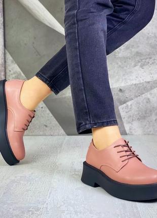 Крутые туфли кожа9 фото