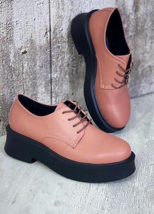 Крутые туфли кожа7 фото