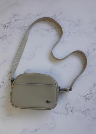 Мессенджер lacoste сумка через плечо