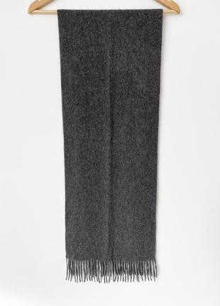 Мягкий и тёплый кашемировый шарф