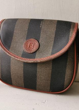 Fendi винтажная сумка кроссбоди