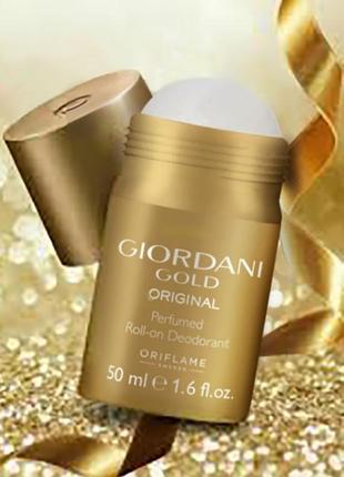 Парфумований дезодорант giordani gold original oriflame оріфлейм орифлейм 32493 шариковый