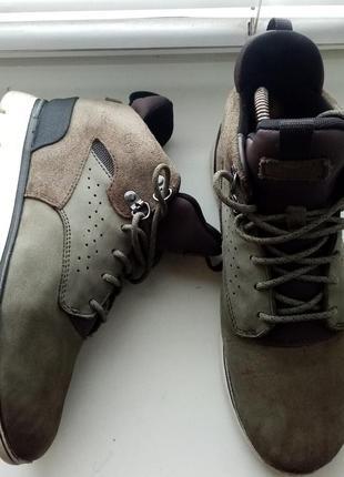 Демисезонные кожаные ботинки timberland (оригинал)