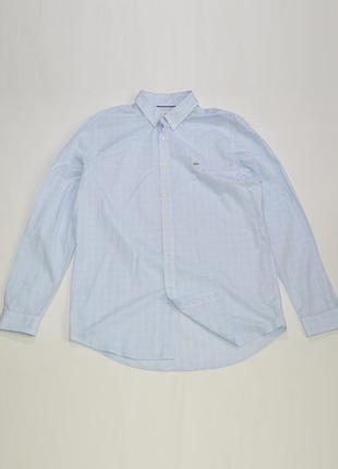 Рубашка lacoste regular fit cotton shirt ch6071