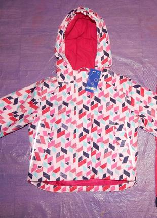 Р. 110-116, выбор цвета! лыжная куртка термо мембранная lupilu, германия
