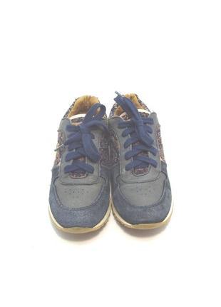 Детские оригинальные кожаные кроссовки le cog sportif р. 34