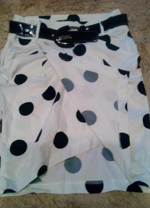 Шикарная белая юбка