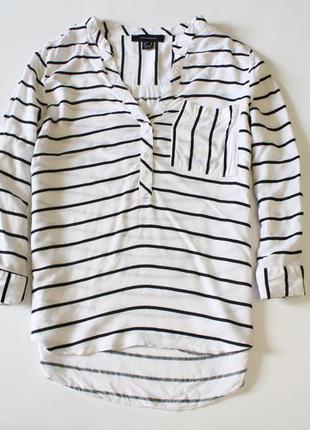 Блуза кофточка в полоску