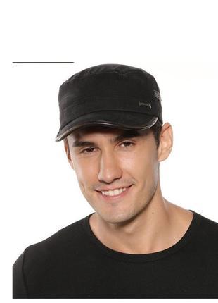 Кепка немка черная