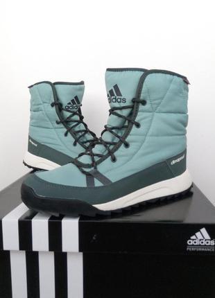 Зимние ботинки adidas с мембраной climaproof р-р 37,5-38. оригинал