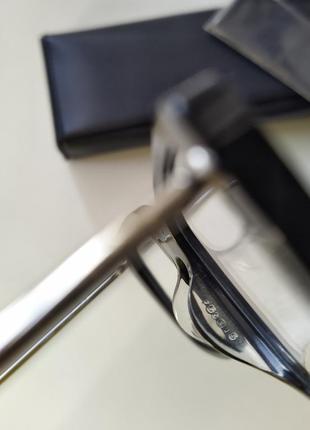 Новая оправа jil sander оригинал очки премиум жиль сандер made in italy cateye3 фото
