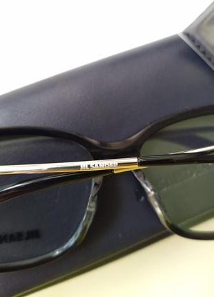Новая оправа jil sander оригинал очки премиум жиль сандер made in italy cateye6 фото