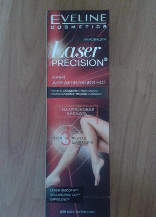 Крем для депиляции ног laser precision