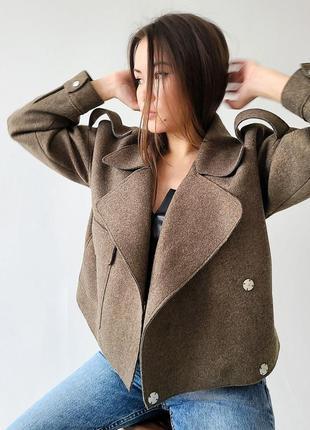 ❤️ хит куртка косуха тканевая