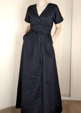 Длинное котоновое платье. большие размеры