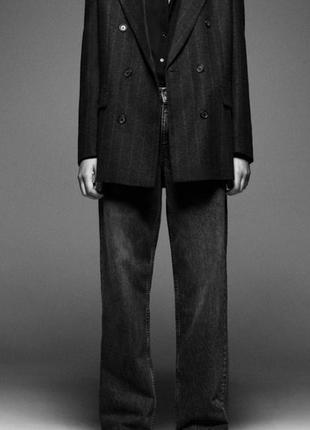 Прямые длинные джинсы с завышенной талией, штаны, брюки