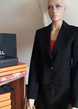 Roberto cavalli! оригинал!  черный женский жакет/пиджак.