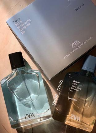 Духи zara seoul/seoul summer/чоловічі парфуми /туалетна вода /парфюм