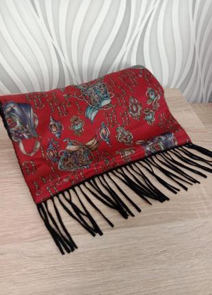 Мужской классический шарф двухсторонний1 фото