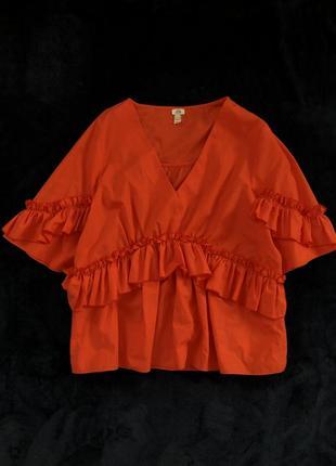Яркая блуза-футболка  river island