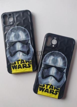 Чехол star wars черный для iphone 11 pro max