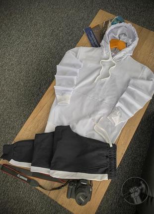 Мужской костюм весна осень спортивный костюм худи и штаны