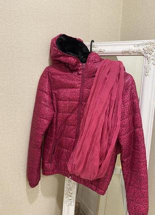 Куртка и шарф bershka