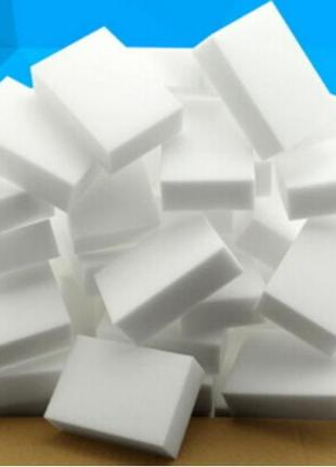 Меламиновые губки, 50шт в упаковке