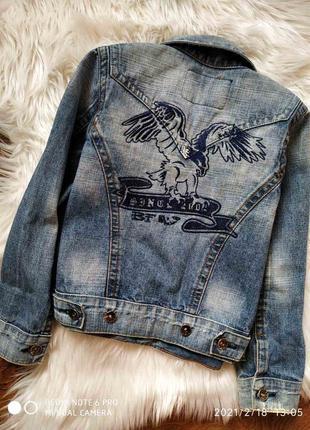 Джинсовая куртка 7-8 лет