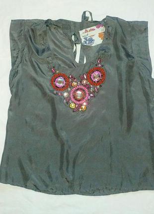 Блуза next с съёмным украшением -50%