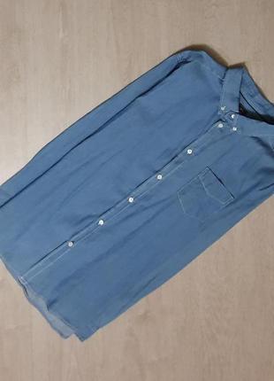 Продается нереально крутая джинсовая   рубашка от deval