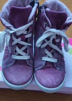Продам теплые детские ботиночки