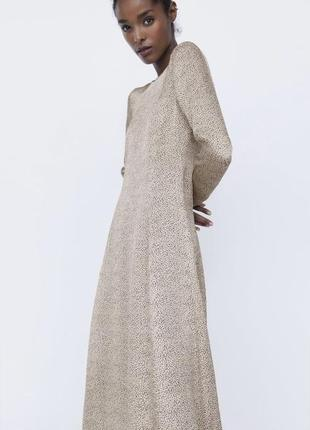 Zara платье в горох,  s, m