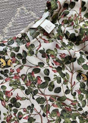 Платье в цветочный принт3 фото