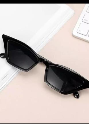 Модные женские винтажные солнцезащитные очки  кошачий глаз