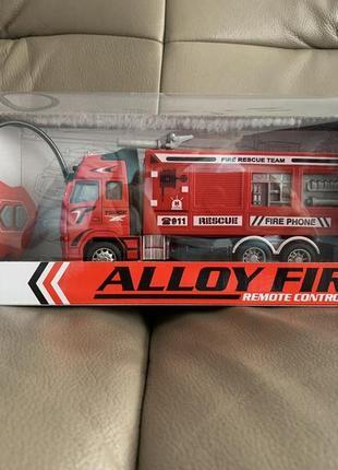 Пожарная машина на радиоуправлении с подсветкой truck