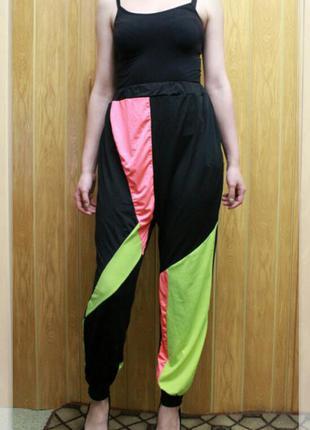 Эластичные,спортивные штаны с высокой посадкой,р.s-l