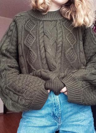 Офигенный свитер оверсайз