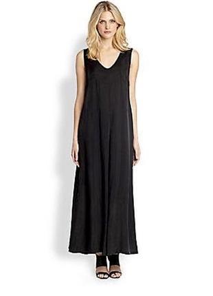 Макси платье из ацетата от max mara