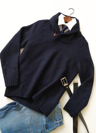 Модный пуловер.свитер. джемпер. для подростка. мужской. шерсть. conbipel.
