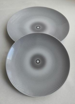 Набор фарфоровых тарелок, 2 шт.