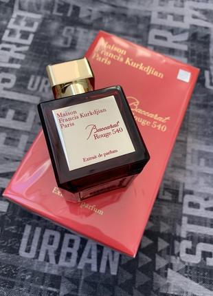 Maison francis kurkdjian baccarat rouge 540 extrait de parfum 70 ml.