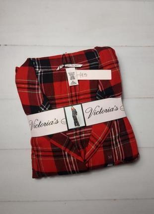 Фланелевая рубашка victoria's secret