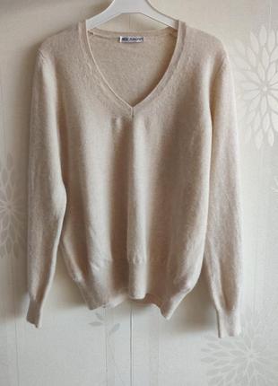 Кашемировый джемпер свитер полувер