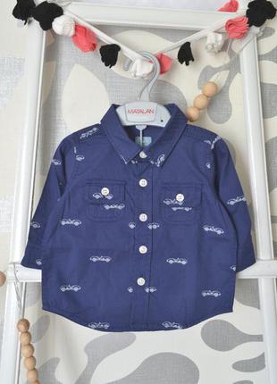 Рубашка gap, 3-6 мес/60 см, 6-12 мес/70 см