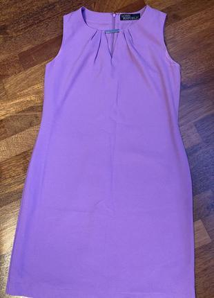 Фиолетовое, нарядное платье