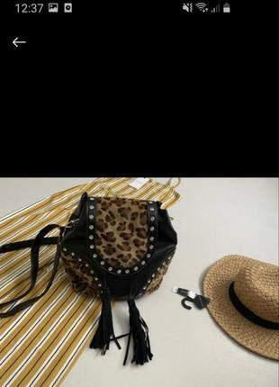 Стильная комбинация сумка рюкзак