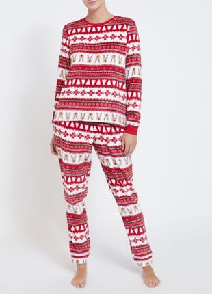Флисовая пижамка от dunnes stores из англии. акция!