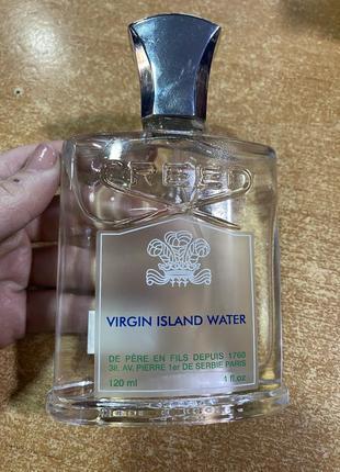 Оригинальный тестер creed virgin island water (120 ml)