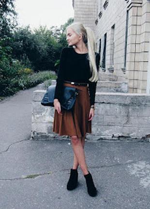 Чёрные челси, ботинки, bershka, размер 37